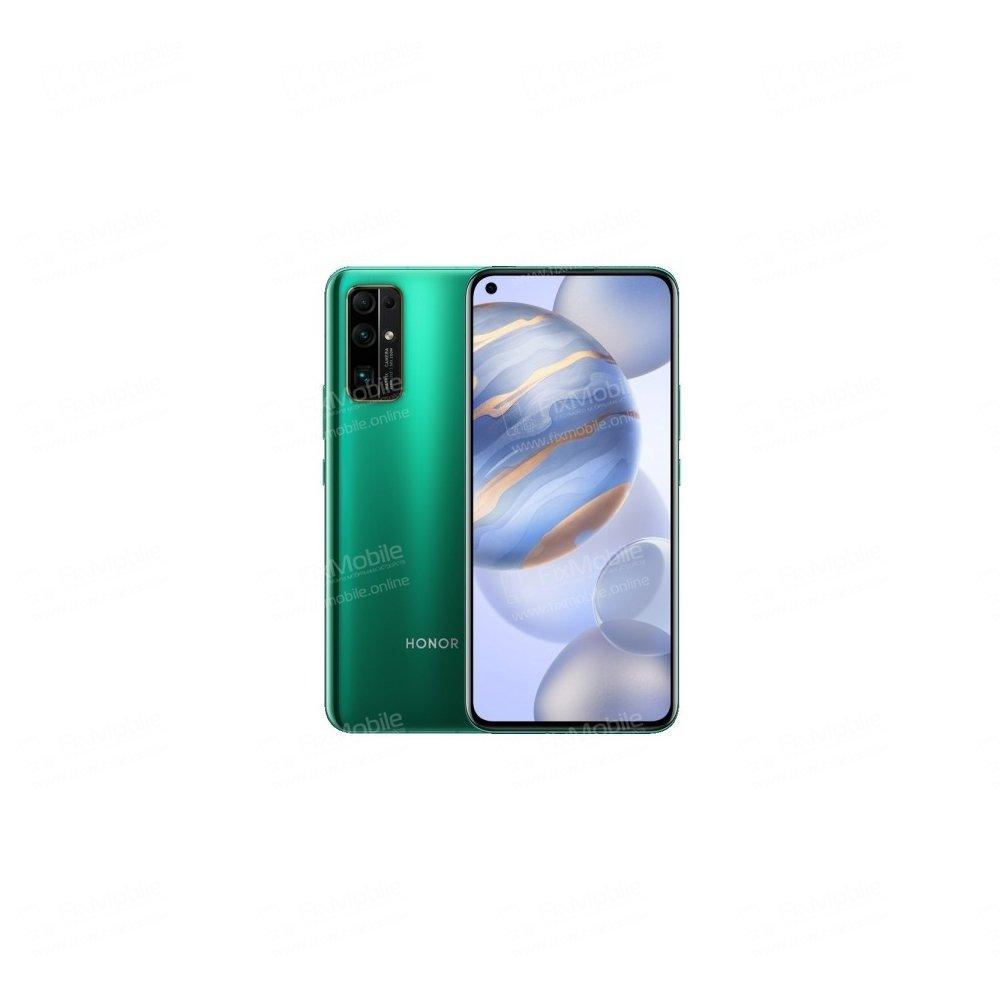 Защитное стекло для Huawei Honor 30 (полное покрытие) (черное) Премиум — 3