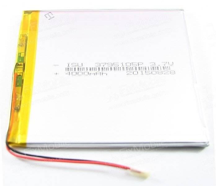 Аккумуляторная батарея универсальная 3795105p (3.7*95*105 мм)