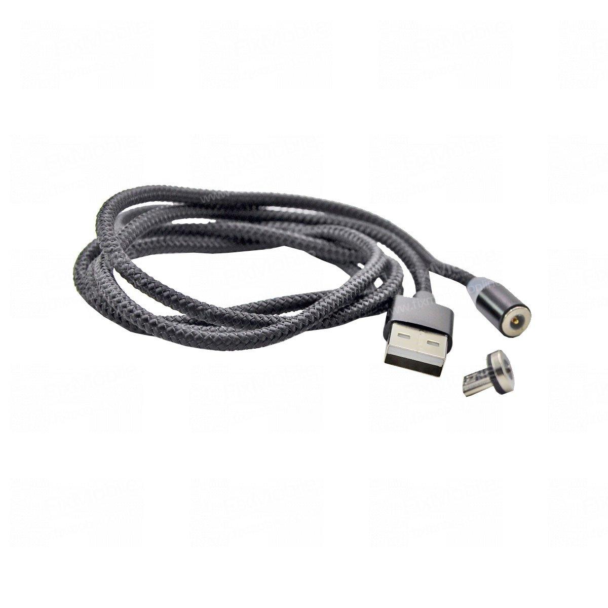 Кабель M600 магнитный (USB - micro-USB) черный
